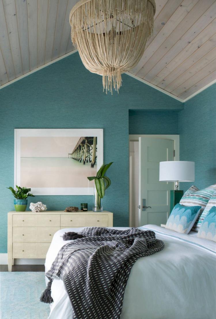 50 Inspiring Lake House Bedroom Design Ideas