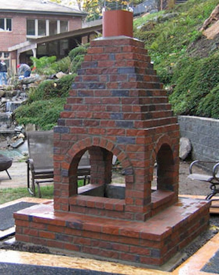 34+ Simple and Cheap Fire Pit and Backyard Landscaping Ideas