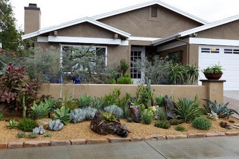 49 Straightforward Low Maintenance Front Yard Landscaping Ideas