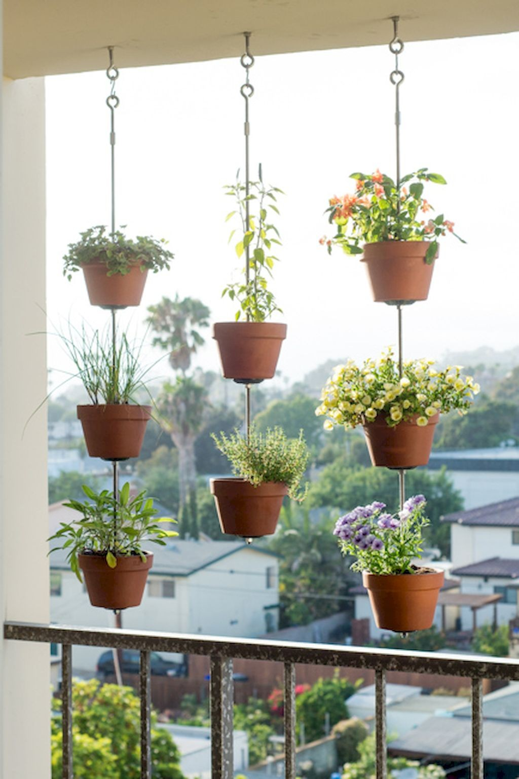 84 Tiny Apartment Balcony Decorating Ideas